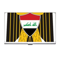 Coat Of Arms Of Iraq  Business Card Holders by abbeyz71