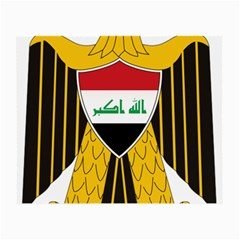 Coat Of Arms Of Iraq  Small Glasses Cloth by abbeyz71