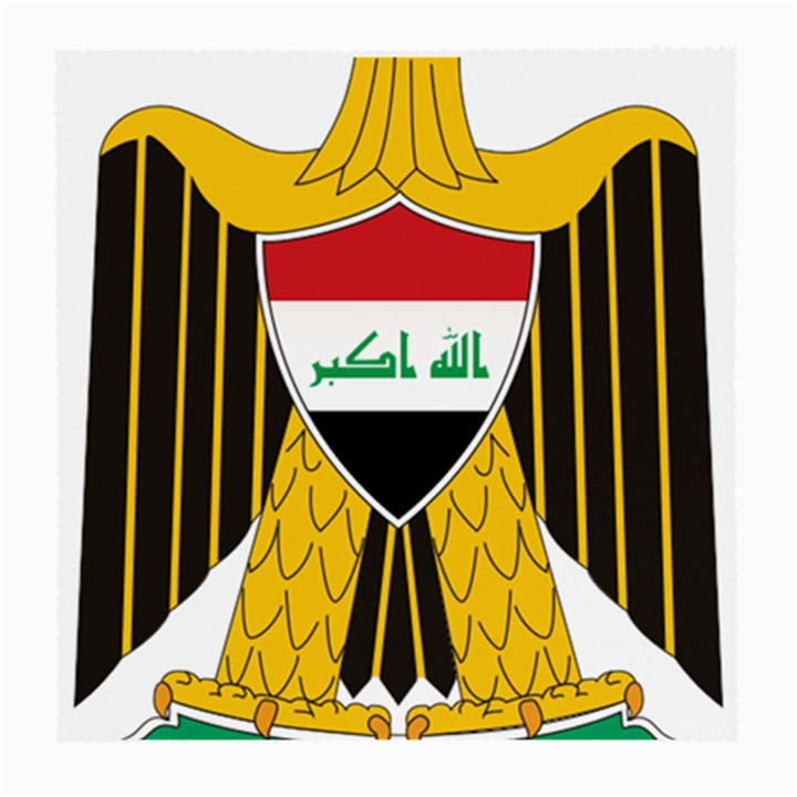Coat of Arms of Iraq  Medium Glasses Cloth