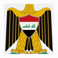 Coat Of Arms Of Iraq  Medium Glasses Cloth (2 Side) by abbeyz71