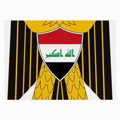 Coat Of Arms Of Iraq  Large Glasses Cloth by abbeyz71