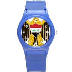 Coat Of Arms Of Iraq  Round Plastic Sport Watch (s) by abbeyz71