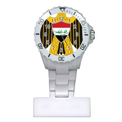 Coat Of Arms Of Iraq  Plastic Nurses Watch by abbeyz71