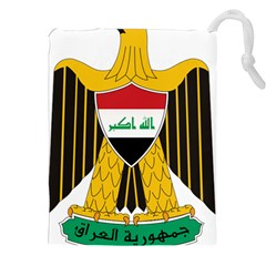 Coat Of Arms Of Iraq  Drawstring Pouches (xxl) by abbeyz71