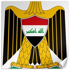Coat Of Arms Of Iraq  Canvas 12  X 12   by abbeyz71