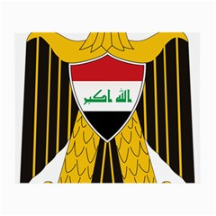 Coat Of Arms Of Iraq  Small Glasses Cloth (2 Side) by abbeyz71