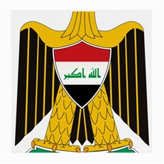 Coat Of Arms Of Iraq  Medium Glasses Cloth by abbeyz71