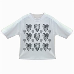 Black Paw Hearts Love Animals Infant/toddler T Shirts