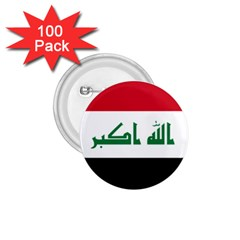 Flag Of Iraq 1 75  Buttons (100 Pack)  by abbeyz71