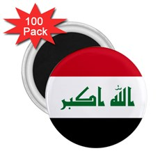 Flag Of Iraq 2 25  Magnets (100 Pack)  by abbeyz71