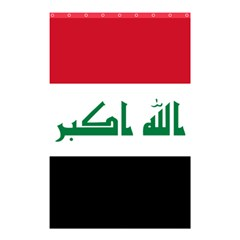 Flag Of Iraq Shower Curtain 48  X 72  (small)  by abbeyz71