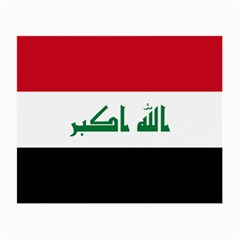 Flag Of Iraq  Small Glasses Cloth by abbeyz71