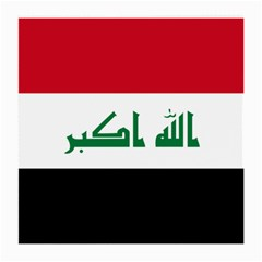 Flag Of Iraq  Medium Glasses Cloth (2 Side) by abbeyz71