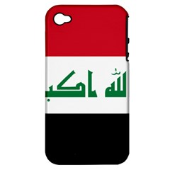 Flag Of Iraq  Apple Iphone 4/4s Hardshell Case (pc+silicone) by abbeyz71