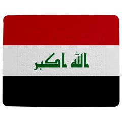 Flag Of Iraq  Jigsaw Puzzle Photo Stand (rectangular) by abbeyz71