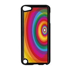 Circle Rainbow Color Hole Rasta Apple Ipod Touch 5 Case (black) by Mariart