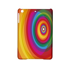 Circle Rainbow Color Hole Rasta Ipad Mini 2 Hardshell Cases by Mariart