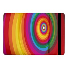 Circle Rainbow Color Hole Rasta Samsung Galaxy Tab Pro 10 1  Flip Case