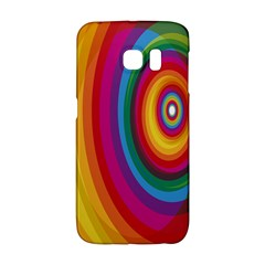 Circle Rainbow Color Hole Rasta Galaxy S6 Edge by Mariart