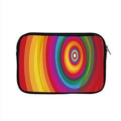 Circle Rainbow Color Hole Rasta Apple Macbook Pro 15  Zipper Case by Mariart
