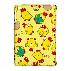 Animals Yellow Chicken Chicks Worm Green Apple Ipad Mini Hardshell Case (compatible With Smart Cover) by Mariart