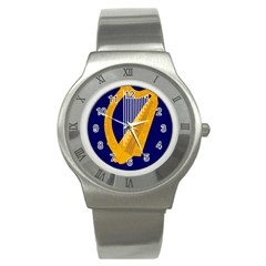 Coat Of Arms Of Ireland Stainless Steel Watch by abbeyz71