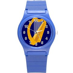 Coat Of Arms Of Ireland Round Plastic Sport Watch (s) by abbeyz71