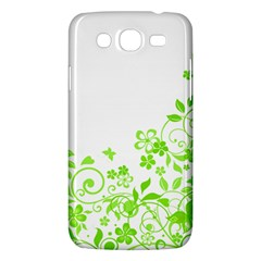 Butterfly Green Flower Floral Leaf Animals Samsung Galaxy Mega 5 8 I9152 Hardshell Case  by Mariart
