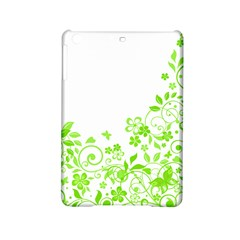 Butterfly Green Flower Floral Leaf Animals Ipad Mini 2 Hardshell Cases by Mariart