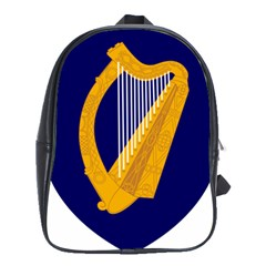 Coat Of Arms Of Ireland School Bags(large)  by abbeyz71