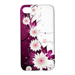 Flower Purple Sunflower Star Butterfly Apple Iphone 4/4s Hardshell Case With Stand by Mariart