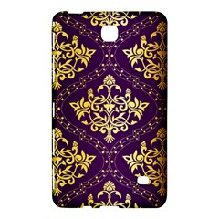 Flower Purplle Gold Samsung Galaxy Tab 4 (7 ) Hardshell Case  by Mariart