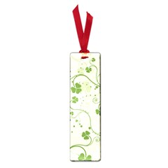 Flower Green Shamrock Small Book Marks by Mariart