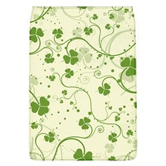 Flower Green Shamrock Flap Covers (l)  by Mariart