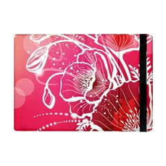 Flower Red Sakura Pink Ipad Mini 2 Flip Cases by Mariart