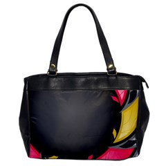 Hole Circle Line Red Yellow Black Gray Office Handbags by Mariart