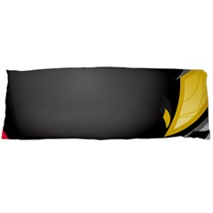 Hole Circle Line Red Yellow Black Gray Body Pillow Case Dakimakura (two Sides) by Mariart