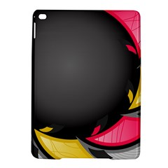 Hole Circle Line Red Yellow Black Gray Ipad Air 2 Hardshell Cases by Mariart