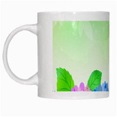 Fruit Flower Leaf White Mugs by Mariart