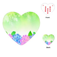 Fruit Flower Leaf Playing Cards (heart)