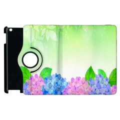 Fruit Flower Leaf Apple Ipad 3/4 Flip 360 Case by Mariart