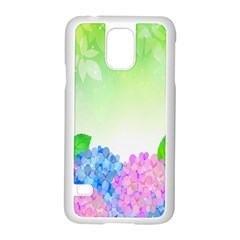Fruit Flower Leaf Samsung Galaxy S5 Case (white) by Mariart