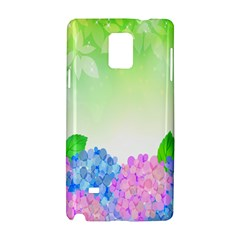 Fruit Flower Leaf Samsung Galaxy Note 4 Hardshell Case by Mariart