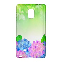 Fruit Flower Leaf Galaxy Note Edge by Mariart