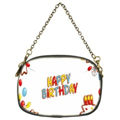 Happy Birthday Chain Purses (one Side)
