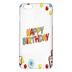 Happy Birthday Iphone 6 Plus/6s Plus Tpu Case by Mariart