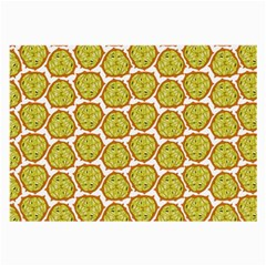 Horned Melon Green Fruit Large Glasses Cloth (2-side) by Mariart