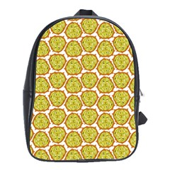 Horned Melon Green Fruit School Bags(large)