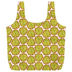 Horned Melon Green Fruit Full Print Recycle Bags (l)  by Mariart
