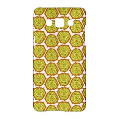 Horned Melon Green Fruit Samsung Galaxy A5 Hardshell Case  by Mariart